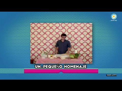 El casting de Juan en Cocineros Argentinos