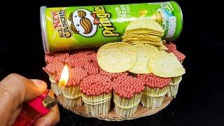 EXPERIMENT Match VS Pringles Chips