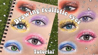 TUTORIAL: Drawing Realistic Eyes