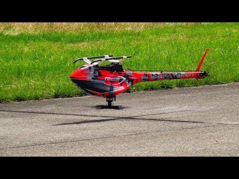 TAREQ ALSAADI GOBLIN KRAKEN 3D RC HELICOPTER SWISS HELI CHALLENGE 2019