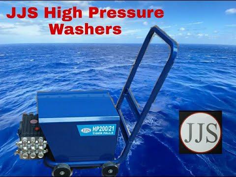 200 Bar High Pressure Washer, ( JJS HP200/21, Tiger Falls) JJS 200 Bar High pressure cleaner,