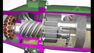 Video Nguyên tắc hoạt động nén khí trục vít