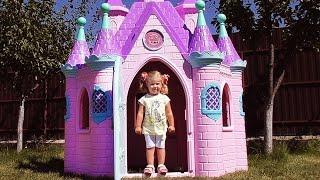 ✿ СУПЕР ЗАМОК ПРИНЦЕССЫ Большой Игрушечный Домик Игры Для Девочек Disney Princess Play Castle Toys