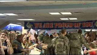 Troops At DFW Nov 19 2011
