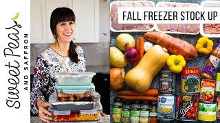 5 Healthy Freezer Meals In 1 Hour!
