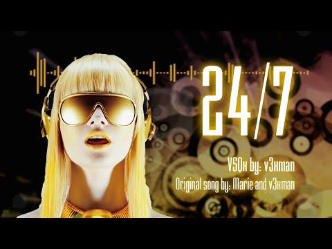 【Cyber Diva】24/7【VOCALOID Original】+ VSQx