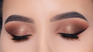Bronze Eye Lifting Eye Makeup Tutorial   An Knook