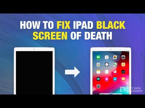 How to Fix iPad Black Screen of Death (iPadOS13 Supported)