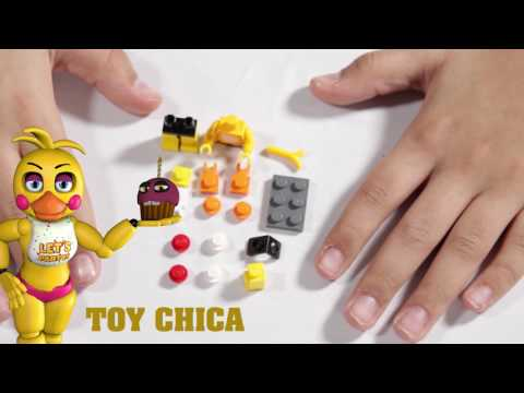 Jaycrafts Ep2 - Buildling your own Foxy and Toy Chica (Lego)