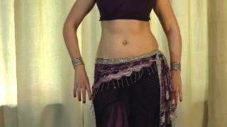 Tribal Belly Dance Class: Learning The 3/4 Shimmy