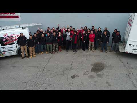 A short video from a company photo shoot at our Ernest Street, New Bedford, MA home office.