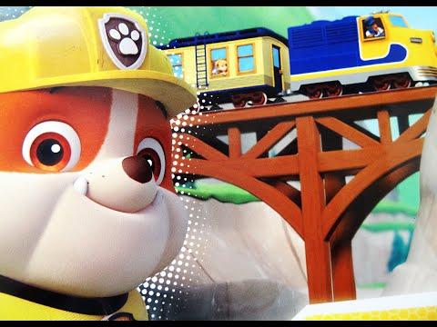 Щенята рятують поїзд. Аудіоказки для дітей. Пригоди щенячого патруля.