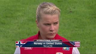 USWNT Vs. Norway (June 11, 2017)