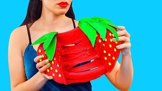 Giant Slime Stress Relievers / 7 DIY Weird Stress Toys