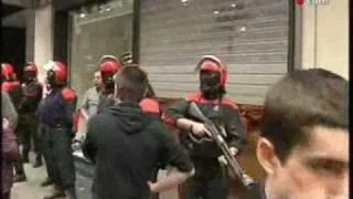 M-21 Greba Orokorraren irudiak. General strike in the S. Basque Country (21/5/2009)