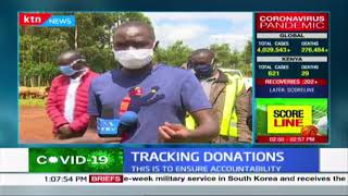 Uasin Gishu youth develop a mobile app that aids tracking donations to vulnerable