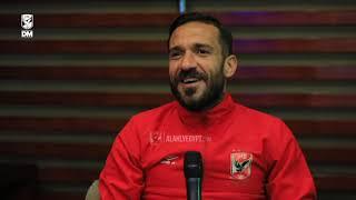 """Maaloul """"Gorginho est la raison de mon nouveau style de penalty... comme d'habitude la ligue ça sera toujours a sa place en Gezirah  """""""