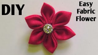 Fabric Flower Making Tutorial / Make Easy Fabric Flowers / DIY Fabric Flower Making / Cloth Flowers