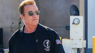 Arnold Schwarzenegger Is Attacked At Cafe Roma