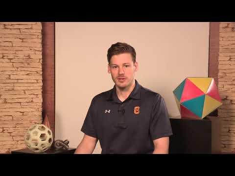 Geoff, Mathematics Major   Student Athlete Testimonial