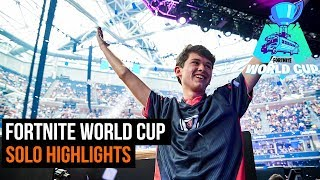 Fortnite World Cup   Solo Finals Highlights