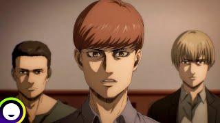 Attack on Titan Final Season English Dub   Funimation Clip: The Jaegerists