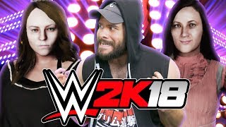 PRINCESS VS NIGHT QUEEN • WWE 2K18 Tournament