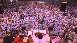 Maha Sivaratri celebrations: Amma singing bhajans at Amritapuri