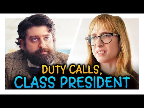 Class President Needed for One Last Job