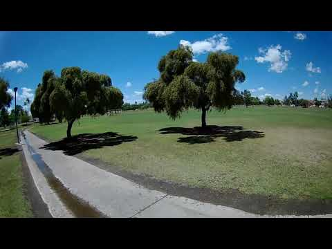 Mobula 7 HD Whoop - FPV 3s Battery Park Flight(Son-in-Laws Whoop)