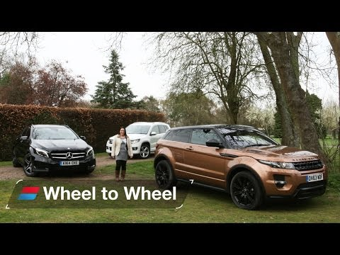 Land Rover Range Rover Evoque vs Mercedes GLA vs Volkswagen Tiguan video 4 of 4