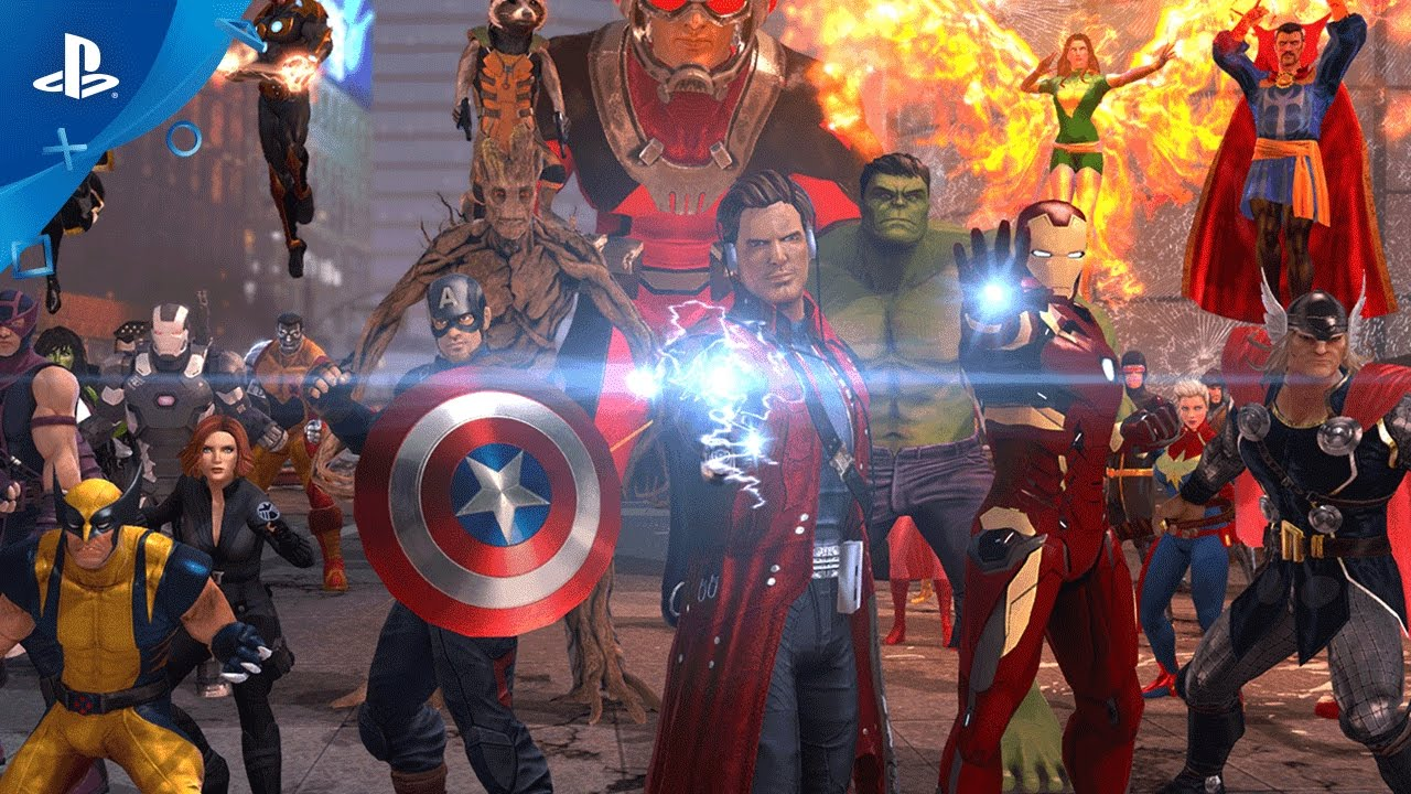 Marvel Heroes Omega Coming to PS4 This Spring