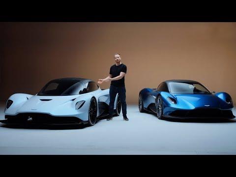 NEW Aston Martin Vanquish and AM-RB 003 – Aston's Ferrari Killers?   Top Gear