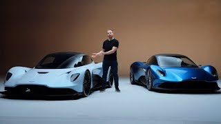 NEW Aston Martin Vanquish and AM-RB 003 – Aston's Ferrari Killers? | Top Gear