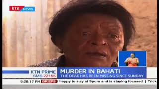 4 year old girl raped and murdered in Bahati