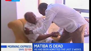 The 85 years well lived of Kenya's second liberation hero Stanley Kenneth Njindo Matiba
