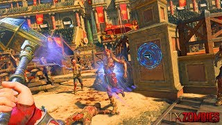 BLACK OPS 4 ZOMBIES - IX GAMEPLAY w/ SYNDICATE MRTLEXIFY & JCBACKFIRE! (Black Ops 4 Zombies)
