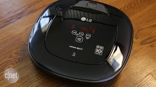 The LG Hom-Bot Square can't outclean the competition
