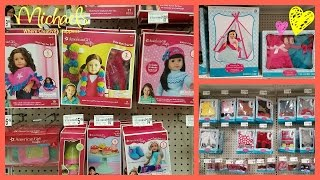 American Girl Cheap DOLL Clothes Shopping At Michaels ,Journey Girls Etc. Toy HUNT 2017
