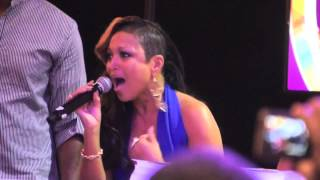 "Chante Moore ""Jesus I Want You"" Acapella @ 2013 Essence Music Festival Convention Center"