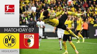 Borussia Dortmund 2-1 FC Augsburg Pekan 7