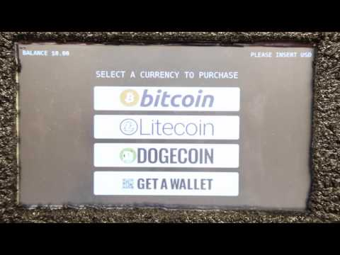 Bitcoin ATM CryptoATM video