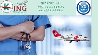 Trustworthy King Air Ambulance Service in Jabalpur with All Needy Medicatio