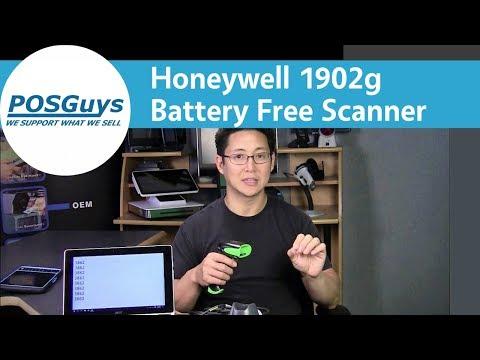 Honeywell Xenon 1902 Wireless Area Imaging Scanner