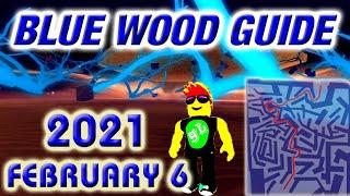 Lumber Tycoon 2 - BLUE WOOD - 2021 February 6