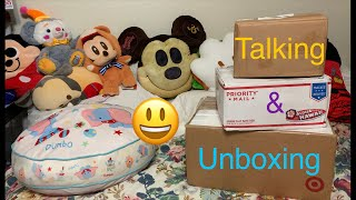 TALKING AND UNBOXING
