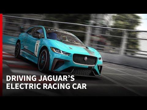 2018 Jaguar I-PACE e-TROPHY tested: Autosport Drives
