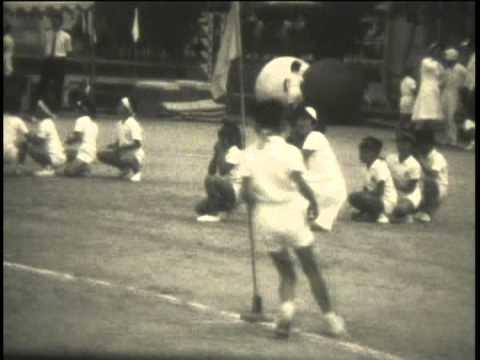 神戸市立垂水小学校運動会 昭和41年