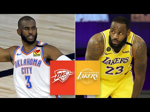 Oklahoma City Thunder vs. Los Angeles Lakers [FULL HIGHLIGHTS] | 2019-20 NBA Highlights