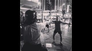 历史画面:香港街头运动与郭文贵官司的进展3